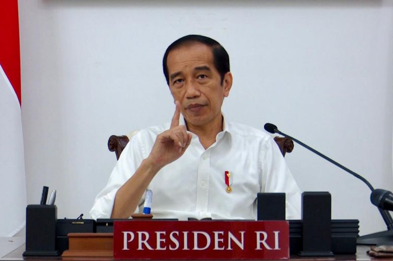 Presiden Jokowi minta evaluasi pos penyekatan saat PPKM darurat