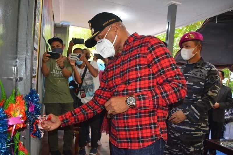 TNI AL bedah rumah peraih Adhi Makayasa 2021 di Jayapura