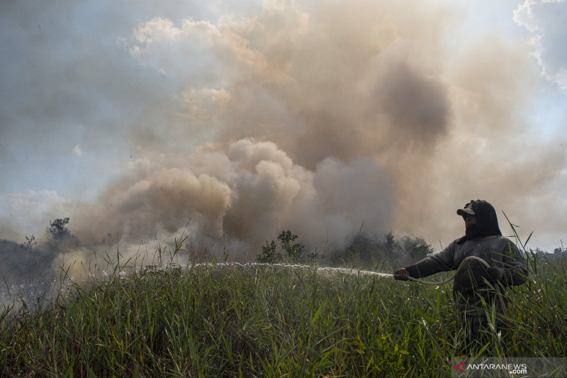 BMKG pantau 44 titik panas di Sumatera Utara