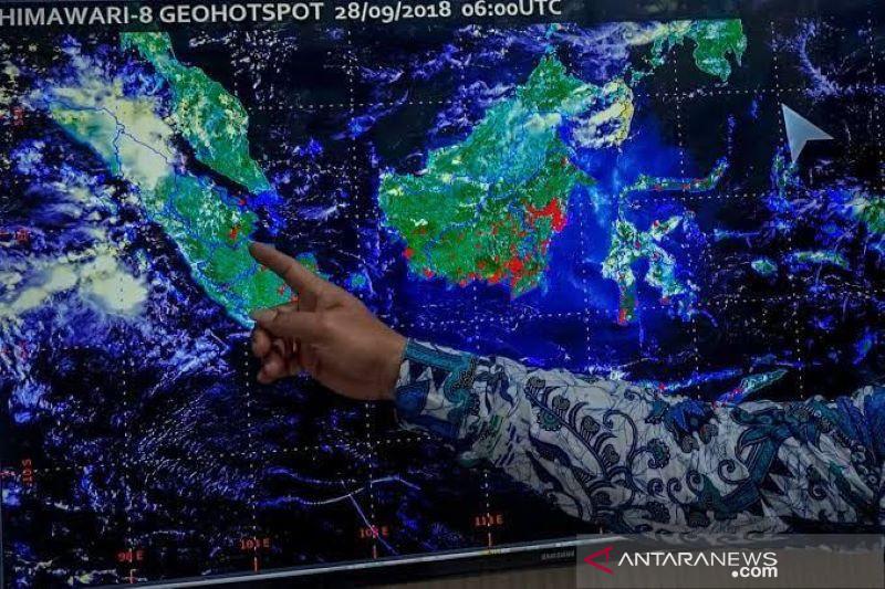 BMKG pantau ada 27 titik panas di Sumut