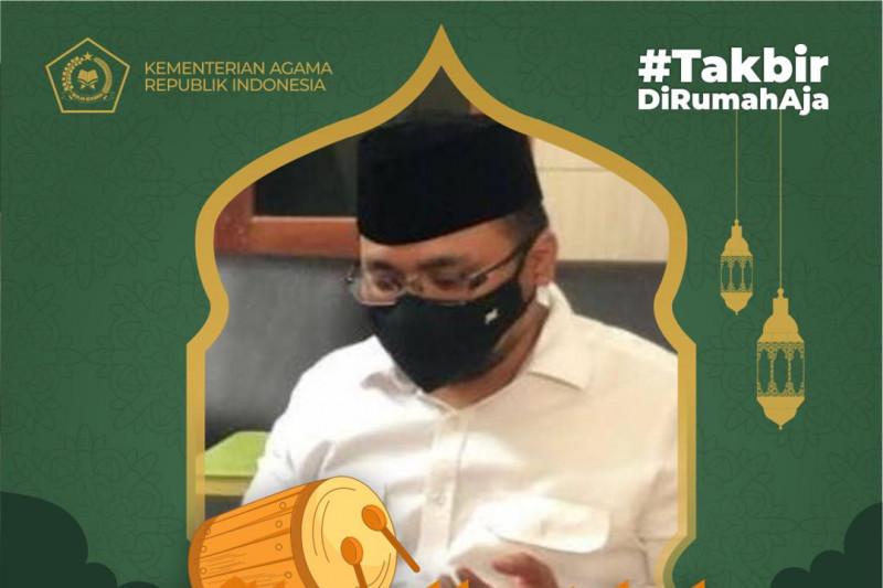 Kemenag gelar takbir akbar virtual sambut Idul Adha 1442 H