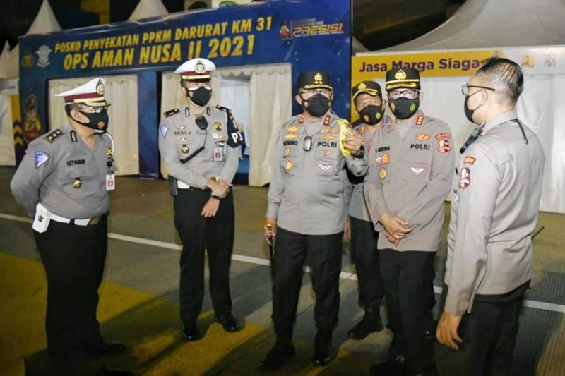 Korlantas Polri putar kembali 1.500 kendaraan jelang Iduladha 1442 H