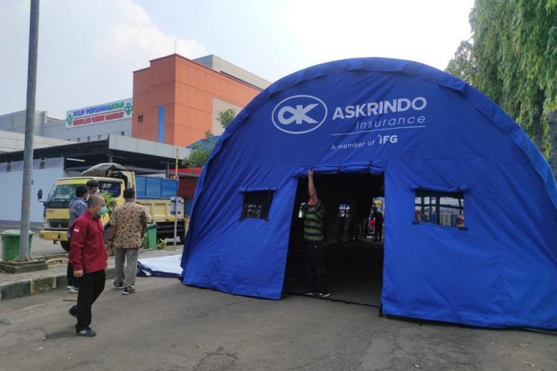 Askrindo Group bantu tenda darurat untuk RS rujukan COVID-19