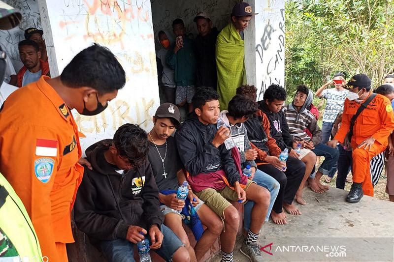Tujuh pemuda hilang di Pegunungan Golo Lusang ditemukan selamat