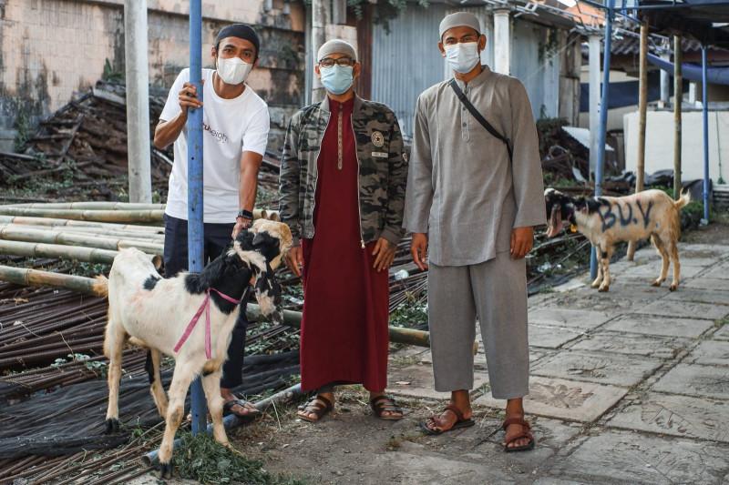 Idul Adha di masa PPKM Darurat, Bali United kurban lima kambing