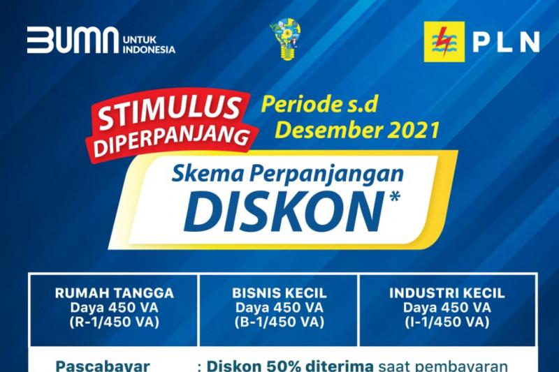 32 juta pelanggan PLN di Indonesia mendapatkan stimulus listrik: pemerintah
