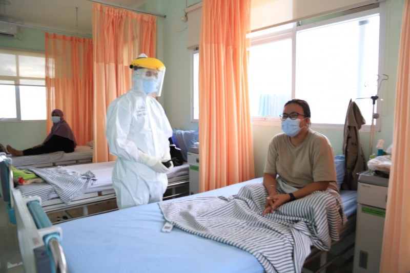 Tingkat keterisian tempat tidur pasien COVID-19 Kota Tangerang turun