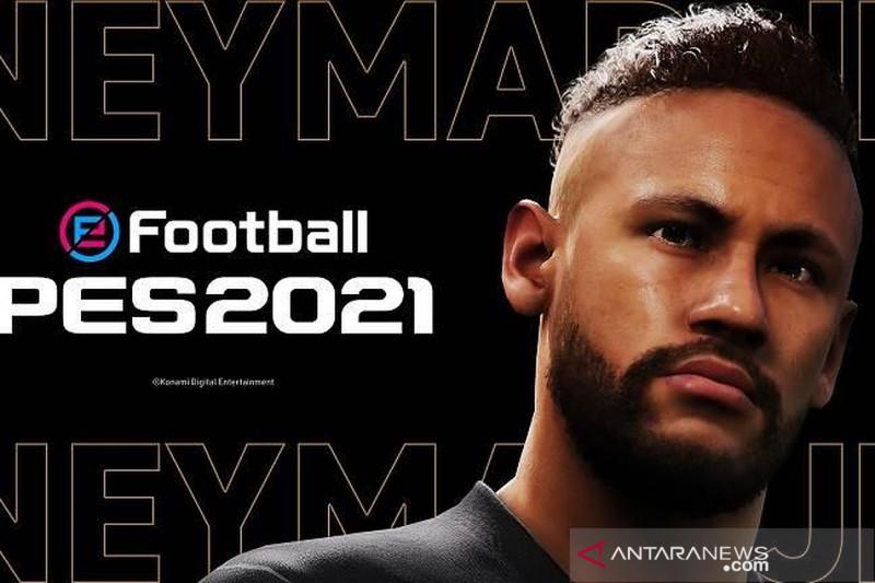 Konami tunjuk Neymar jadi duta merek PES 2021