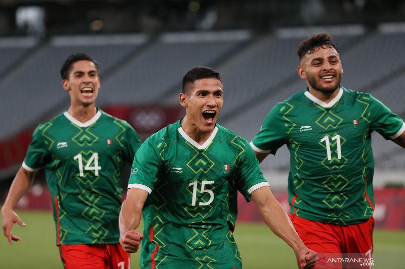 Prancis telan kekalahan telak 1-4 atas Meksiko di laga perdana Grup A