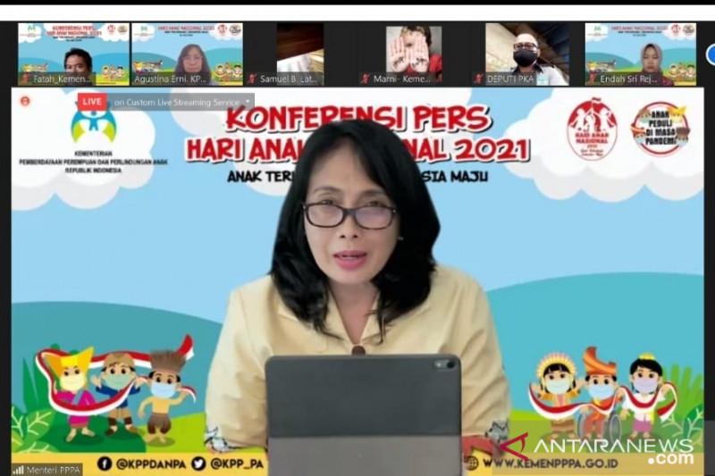 Momen HAN 2021, Menteri Bintang ajak masyarakat jamin penuhi hak anak