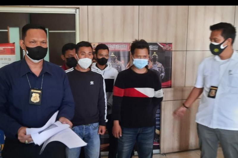 Pelaku pungli di penyekatan tol Palembang-Lampung ditangkap polisi