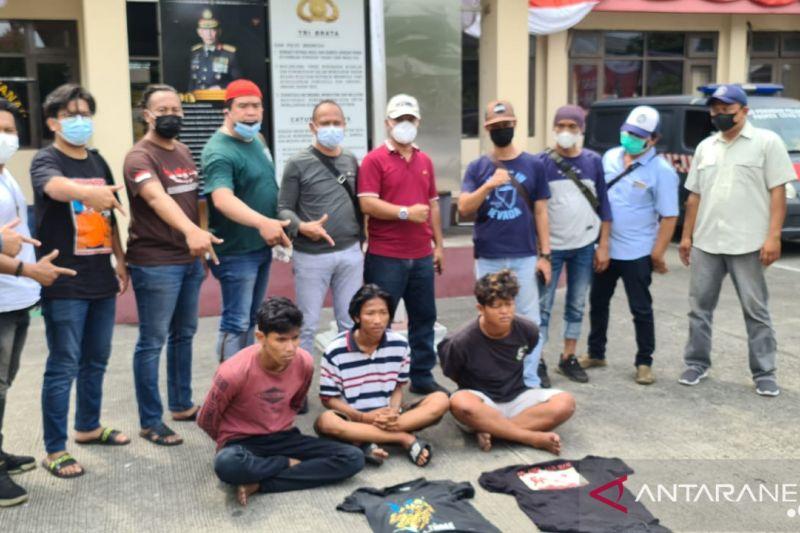 Tiga pemuda di Koja resmi jadi tersangka kasus pemalakan sopir