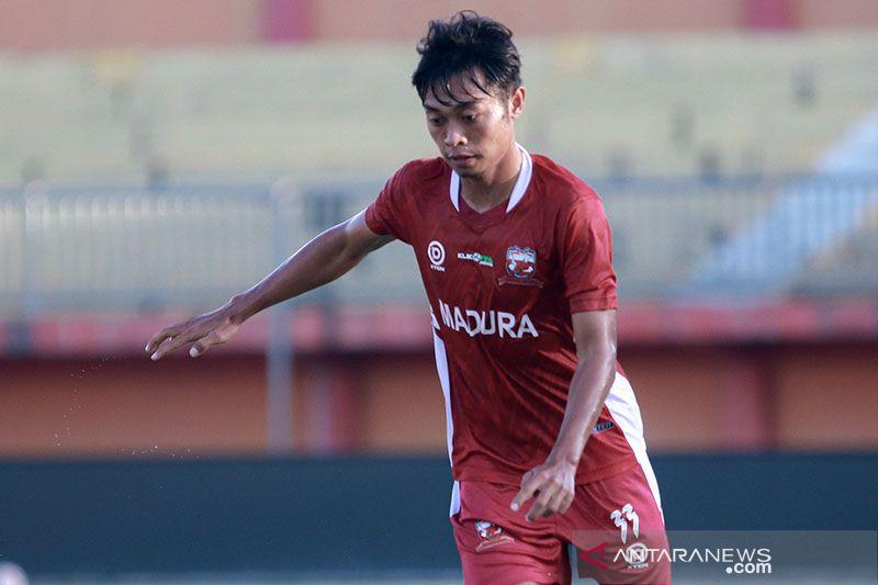 Striker Madura United Kevy kerap tambah menu latihan mandiri