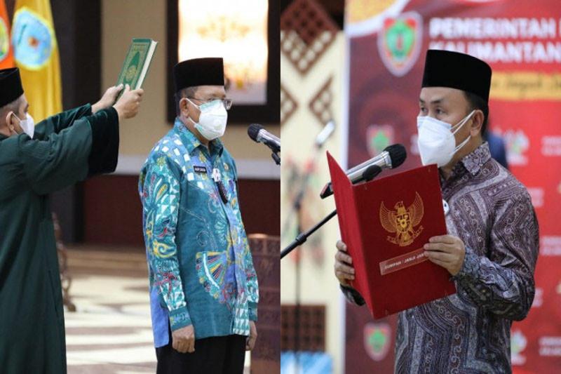 Gubernur melantik Nuryakin sebagai Penjabat Sekda Kalteng