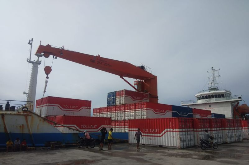 Muatan tol laut di Pelabuhan Depapre meningkat meskipun pandemi