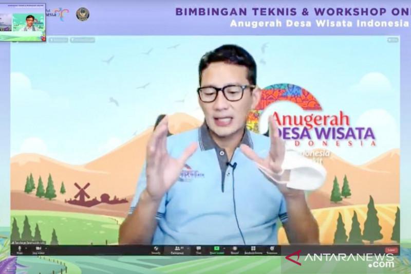 Kemenparekraf gelar workshop online Anugerah Desa Wisata 2021