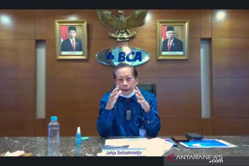 Presdir BCA perkirakan ekonomi Indonesia tahun ini tumbuh 3,7 persen