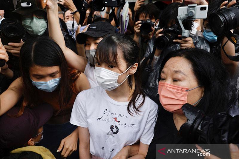 Polisi Hong Kong: Cerita domba dan srigala menghasut