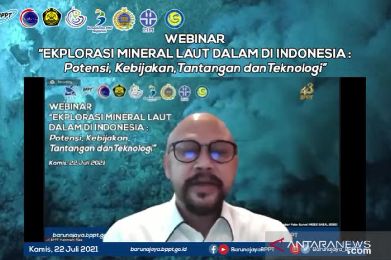 BPPT: Eksplorasi mineral laut dukung teknologi ramah lingkungan