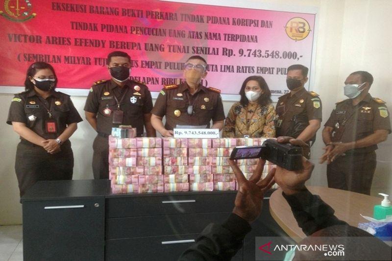 Kejari Jayawijaya mengeksekusi Rp9 miliar korupsi dana desa