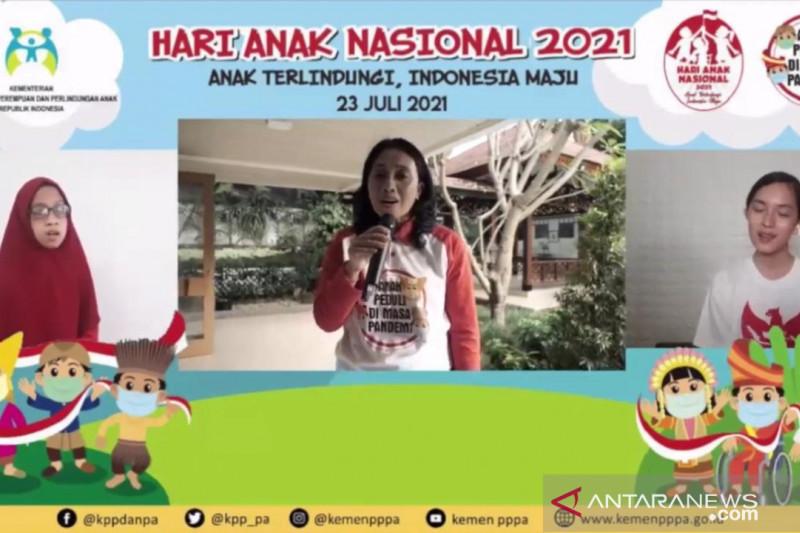 Menteri PPPA motivasi anak Indonesia agar tak kalah dengan pandemi