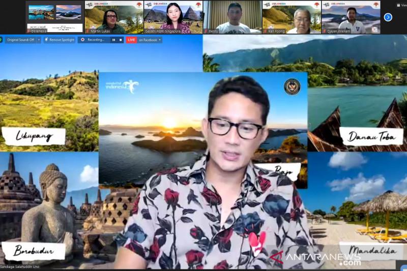 Menparekraf-KBRI ajak masyarakat Singapura wisata virtual ke Bromo