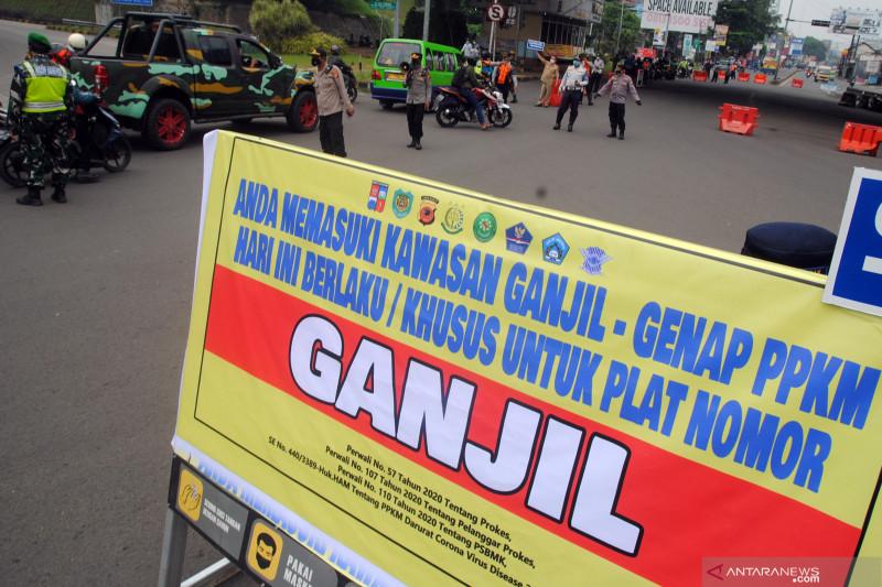 Pemberlakuan ganjil genap di Kota Bogor