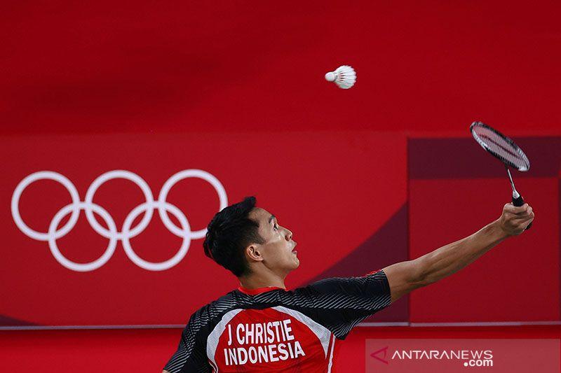 Timnas bulu tangkis buat sejarah menangi semua laga pembuka Olimpiade