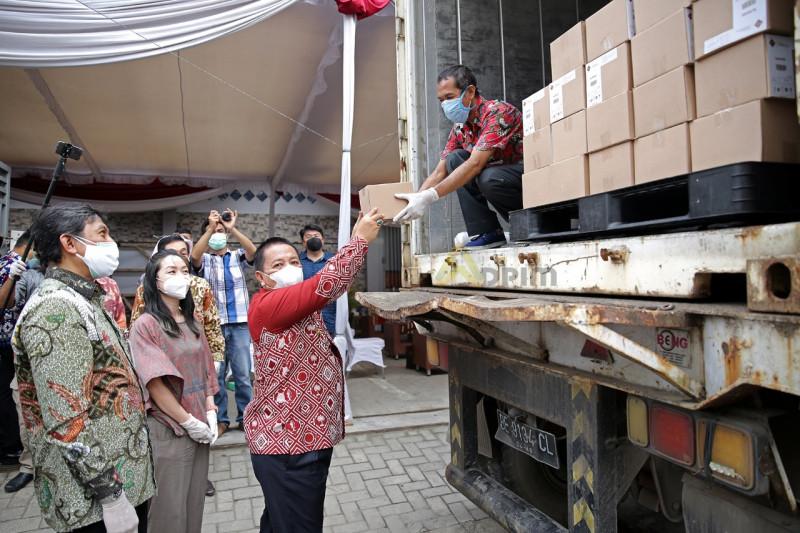 Gubernur Lampung lepas ekspor produk cokelat Krakatoa ke Singapura