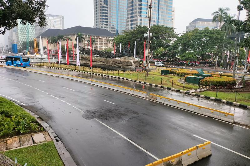 Ojek daring dan ormas tidak ikut demo di depan Istana Negara