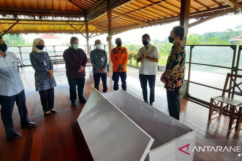 Pemkot Bogor terima bantuan peti jenazah