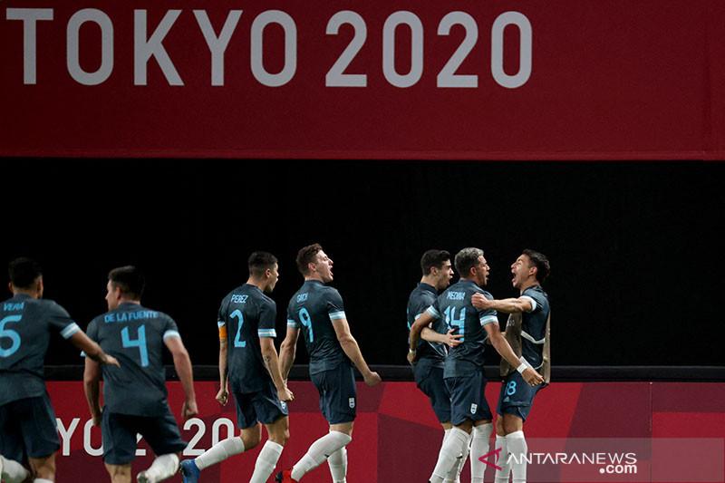 Argentina tekuk Mesir 1-0 di laga lanjutan Grup C Olimpiade Tokyo thumbnail