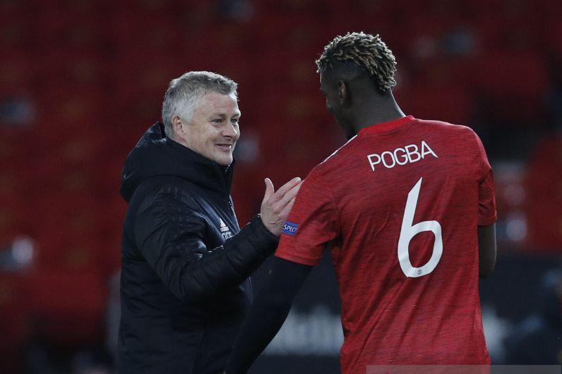 Pelatih MU pastikan negosiasi dengan Paul Pogba masih berjalan
