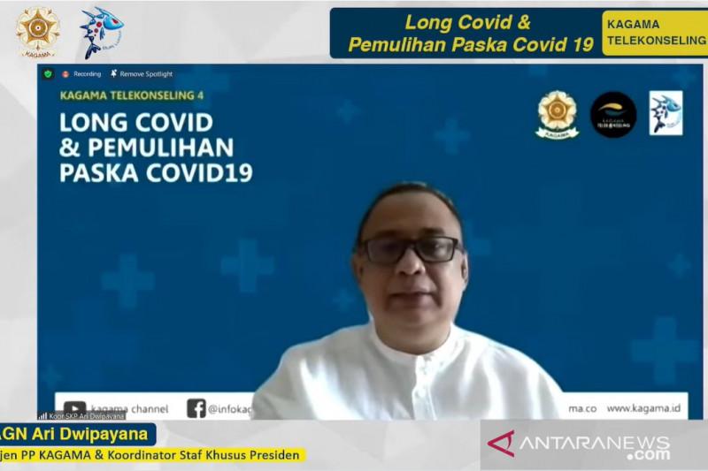 KAGAMA luncurkan program telekonseling COVID-19 gratis saat isoman