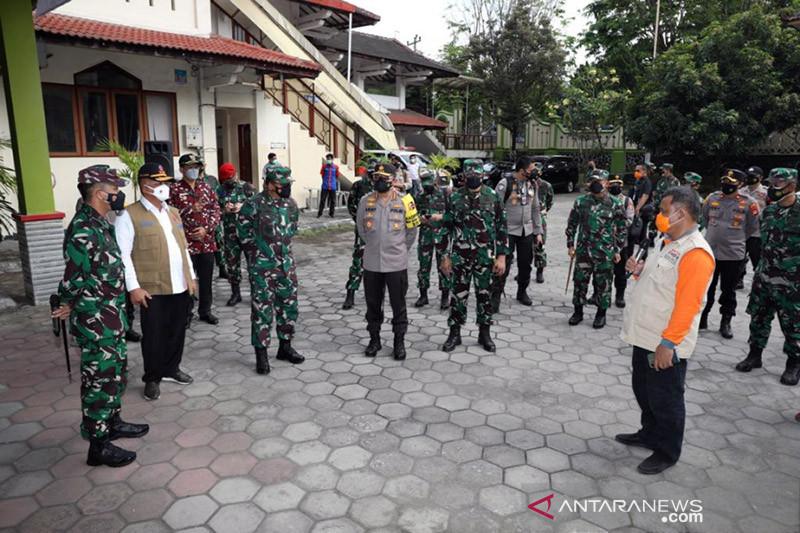 Ketua Satgas titipkan pesan saat kunjungi selter Asrama Haji Sleman