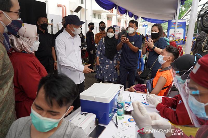 Menteri Teten dorong percepatan vaksinasi pelaku UMKM