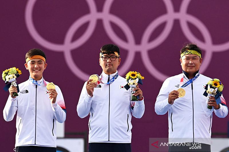 Tim panahan Korea Selatan belum terkalahkan usai emas beregu putra