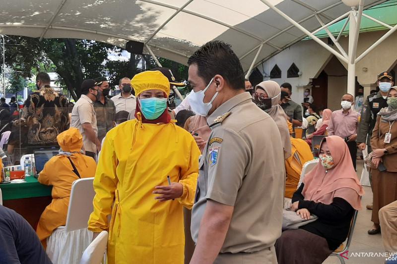 80 persen warga di DKI Jakarta telah terima vaksin dosis pertama