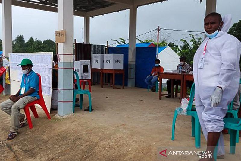 KPU Papua sebut partisipasi pemilih PSU Boven Digoel 56,06 persen