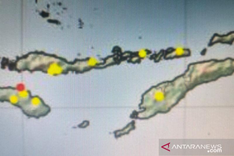 Dua titik panas muncul di Kecamatan Haharu Sumba Timur