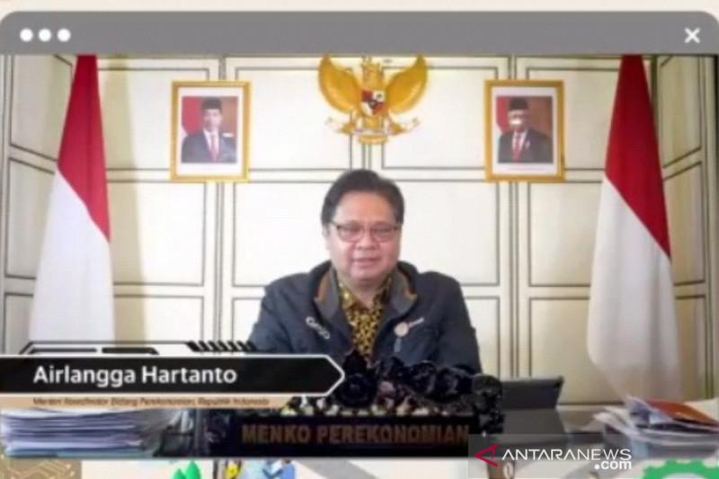 Menko Airlangga: Perlu sinergi dorong pengembangan ekonomi digital