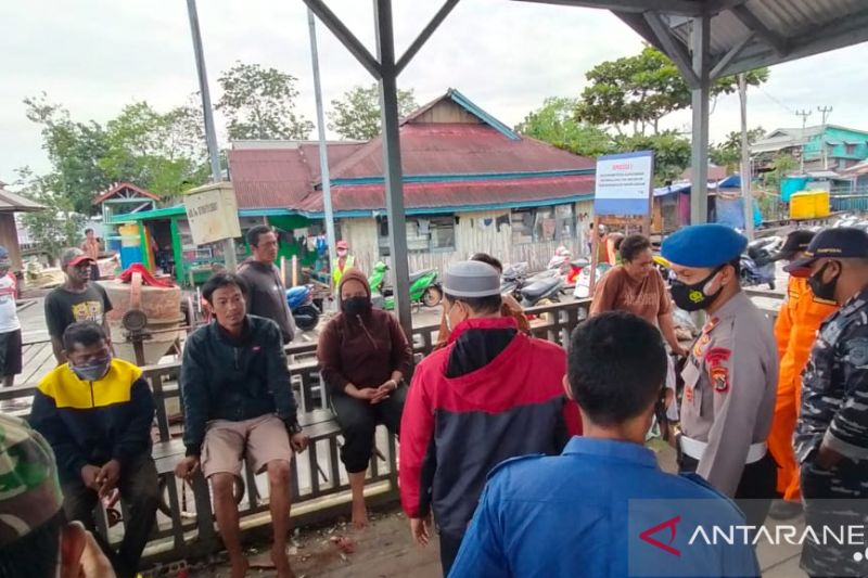 Enam penumpang perahu motor dinyatakan hilang, ditemukan selamat