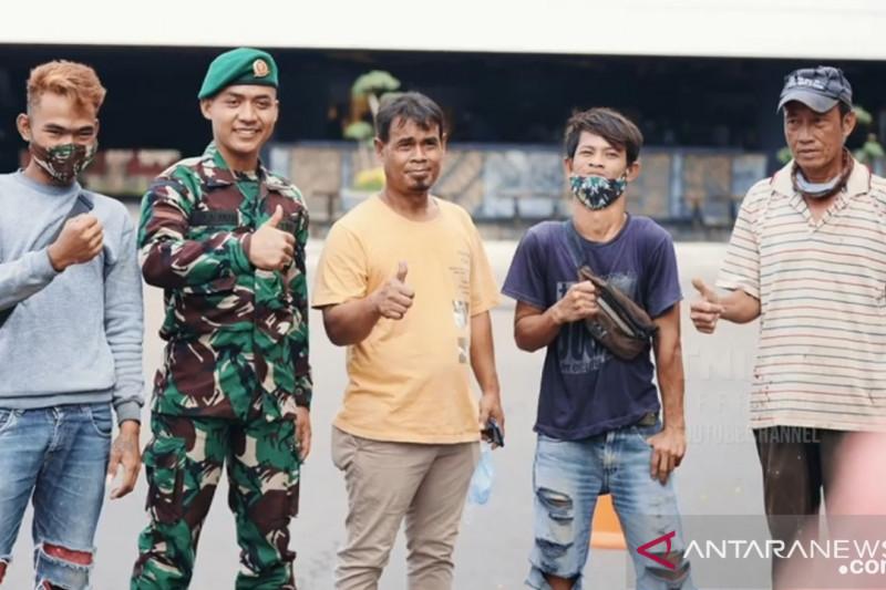 Kasad berpesan tukang yang jadi prajurit TNI agar tidak lupakan teman