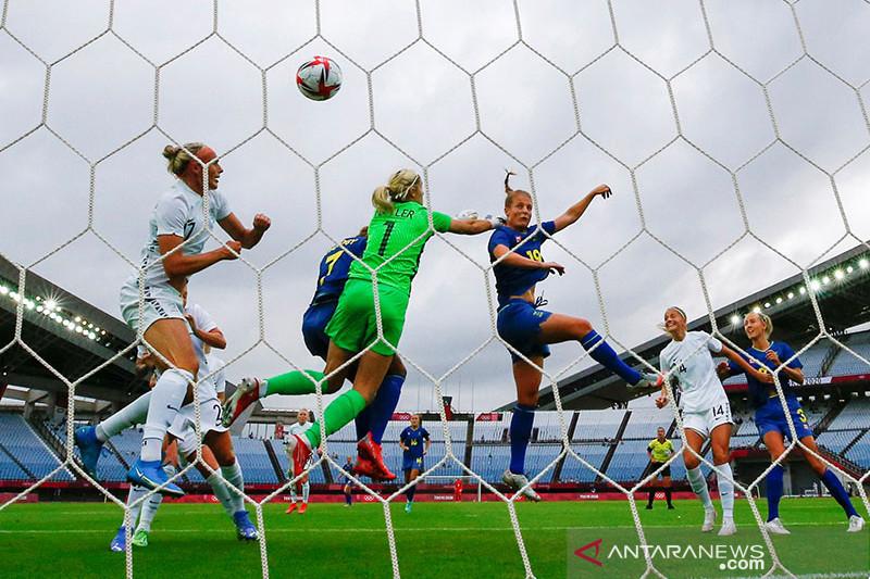 Swedia puncaki grup G usai kalahkan Selandia Baru 2-0
