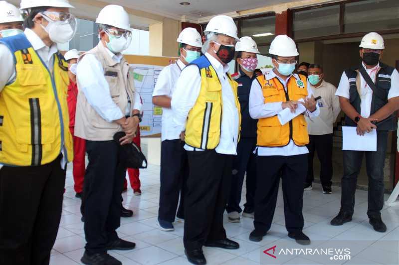 Menteri PUPR tinjau renovasi RSD COVID-19 di Boyolali