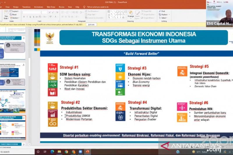 Bappenas paparkan 6 faktor utama pendorong transformasi ekonomi RI