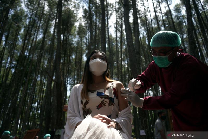 Penerima vaksin COVID-19 lengkap kini mencapai 19,1 juta orang