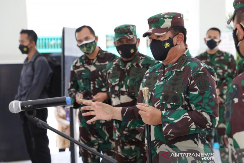 Panglima TNI pastikan prajuritnya siap bertugas jadi