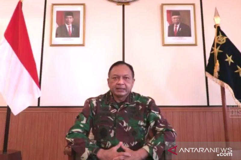 Kasau ganti Danlanud beserta Dansatpom Lanud JA Dimara Merauke