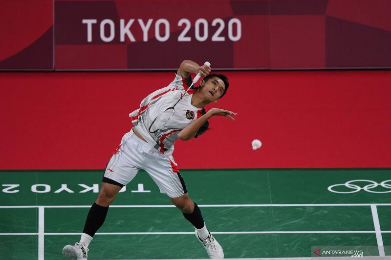 Jonatan susul Ginting ke babak 16 besar Olimpiade Tokyo
